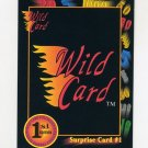 1991-92 Wild Card Basketball #005A Surprise Card 1
