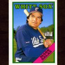 1988 Topps Traded Baseball #099T Mark Salas - Chicago White Sox