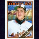 1988 Topps Traded Baseball #078T Joe Orsulak - Baltimore Orioles