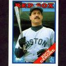 1988 Topps Traded Baseball #027T Rick Cerone - Boston Red Sox