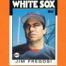 1986 Topps Traded Baseball #039T Jim Fregosi MG - Chicago White Sox