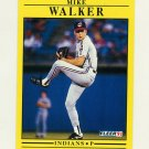 1991 Fleer Baseball #381 Mike Walker - Cleveland Indians