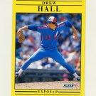 1991 Fleer Baseball #236 Drew Hall - Montreal Expos