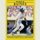 1991 Fleer Baseball #002 Harold Baines - Oakland Athletics