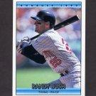 1992 Donruss Baseball #728 Randy Bush - Minnesota Twins
