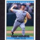 1992 Donruss Baseball #694 Terry Mathews - Texas Rangers