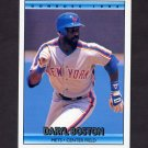 1992 Donruss Baseball #612 Daryl Boston - New York Mets