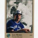 1992 Studio Baseball #257 Jack Morris - Toronto Blue Jays