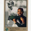 1992 Studio Baseball #221 Harold Baines - Oakland Athletics