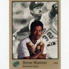 1992 Studio Baseball #057 Dennis Martinez - Montreal Expos