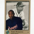 1992 Studio Baseball #008 Terry Pendleton - Atlanta Braves