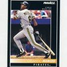 1992 Pinnacle Baseball #062 Orlando Merced - Pittsburgh Pirates