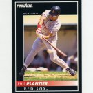 1992 Pinnacle Baseball #051 Phil Plantier - Boston Red Sox ExMt