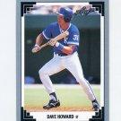 1991 Leaf Baseball #325 Dave Howard RC - Kansas City Royals