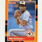 1988 Donruss Baseball's Best #317 Mike Boddicker - Baltimore Orioles