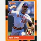 1988 Donruss Baseball's Best #307 Mike Witt - California Angels