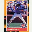 1988 Donruss Baseball's Best #149 Dave Martinez - Chicago Cubs