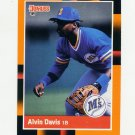 1988 Donruss Baseball's Best #107 Alvin Davis - Seattle Mariners