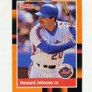 1988 Donruss Baseball's Best #097 Howard Johnson - New York Mets