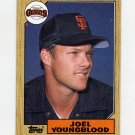 1987 Topps Baseball #759 Joel Youngblood - San Francisco Giants NM-M