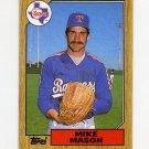 1987 Topps Baseball #646 Mike Mason - Texas Rangers