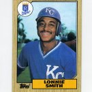 1987 Topps Baseball #069 Lonnie Smith - Kansas City Royals