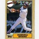1987 Topps Baseball #037 Marvell Wynne - San Diego Padres
