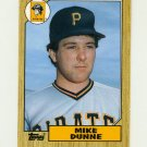 1987 Topps Traded Baseball #030T Mike Dunne - Pittsburgh Pirates