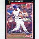 1991 Score Baseball #802 John Russell - Texas Rangers