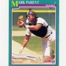 1991 Score Baseball #213 Mark Parent - San Diego Padres