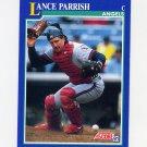 1991 Score Baseball #037 Lance Parrish - California Angels