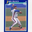 1991 Score Baseball #014 John Franco - New York Mets NM-M