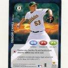2011 Topps Attax Baseball #196 Trevor Cahill - Oakland Athletics