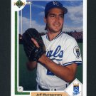 1991 Upper Deck Baseball #637 Jeff Montgomery - Kansas City Royals
