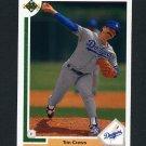 1991 Upper Deck Baseball #596 Tim Crews - Los Angeles Dodgers