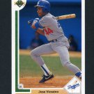 1991 Upper Deck Baseball #580 Jose Vizcaino - Los Angeles Dodgers