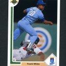 1991 Upper Deck Baseball #568 Frank White - Kansas City Royals