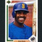 1991 Upper Deck Baseball #457 Alvin Davis - Seattle Mariners