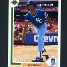 1991 Upper Deck Baseball #431 Tom Gordon - Kansas City Royals