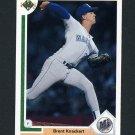 1991 Upper Deck Baseball #378 Brent Knackert - Seattle Mariners