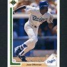 1991 Upper Deck Baseball #356 Jose Offerman - Los Angeles Dodgers
