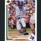 1991 Upper Deck Baseball #284 Jack Daugherty - Texas Rangers