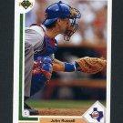 1991 Upper Deck Baseball #191 John Russell - Texas Rangers