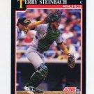 1991 Score Baseball #780 Terry Steinbach - Oakland Athletics