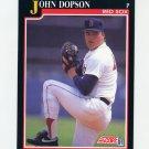 1991 Score Baseball #772 John Dopson - Boston Red Sox