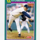 1991 Score Baseball #592 Wes Gardner - Boston Red Sox