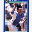 1991 Score Baseball #520 Mike Scioscia - Los Angeles Dodgers NM-M