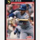 1991 Score Baseball #281 Stan Javier - Los Angeles Dodgers