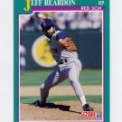 1991 Score Baseball #164 Jeff Reardon - Boston Red Sox