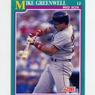 1991 Score Baseball #130 Mike Greenwell - Boston Red Sox